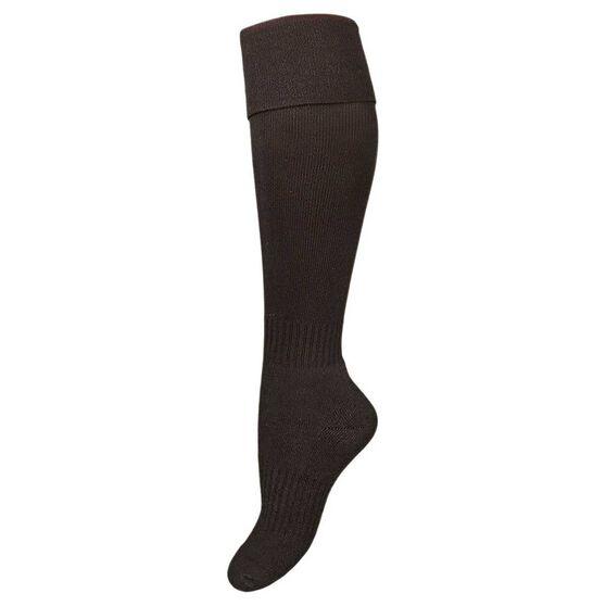 Burley Kids Football Socks, Black, rebel_hi-res