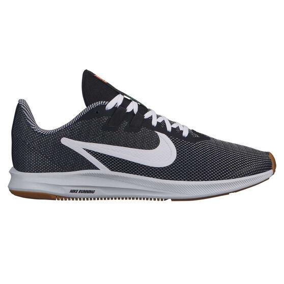 Nike Downshifter 9 SE Mens Running Shoes, Black / White, rebel_hi-res