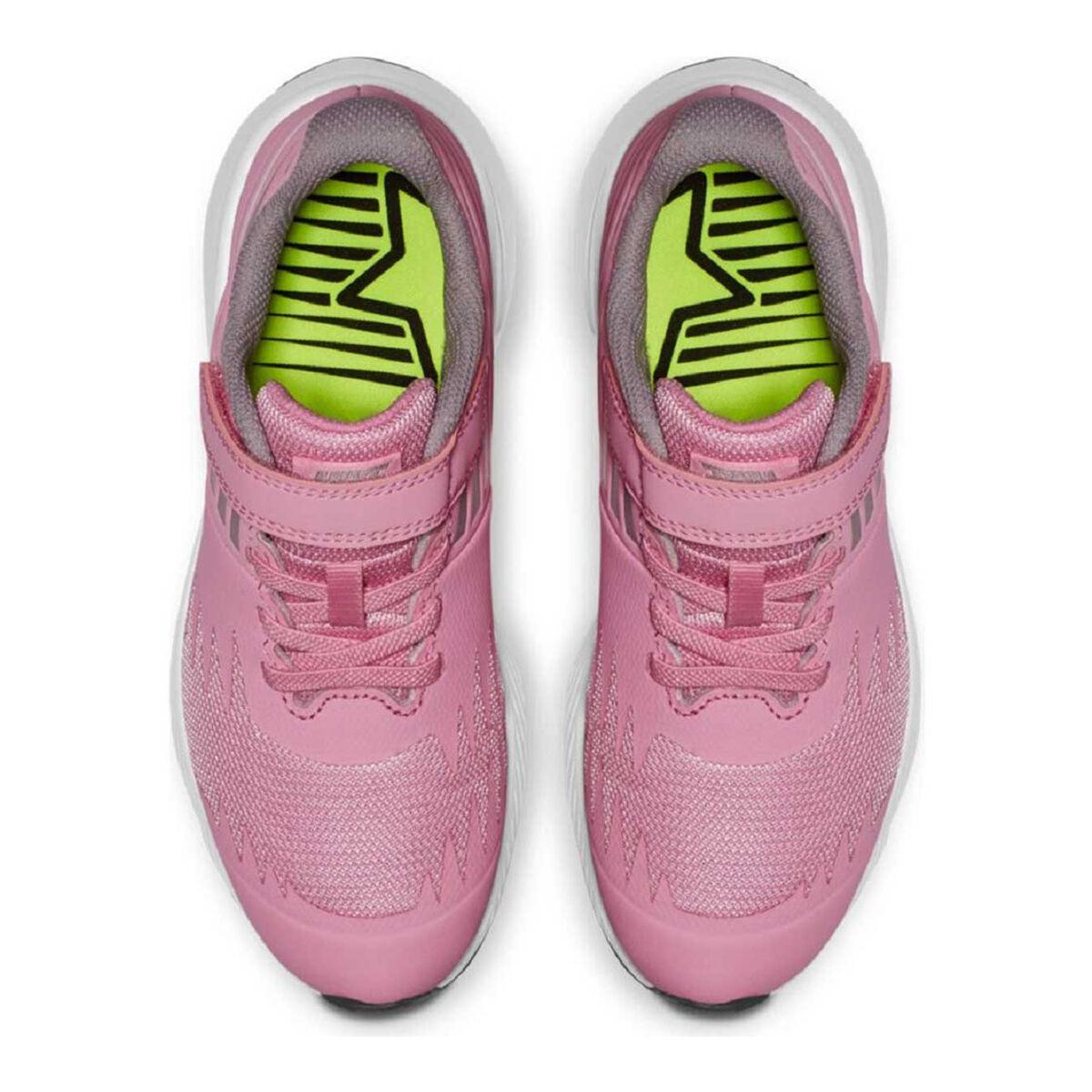 Nike Star Runner Kids Running Shoes Pink Grey US 3