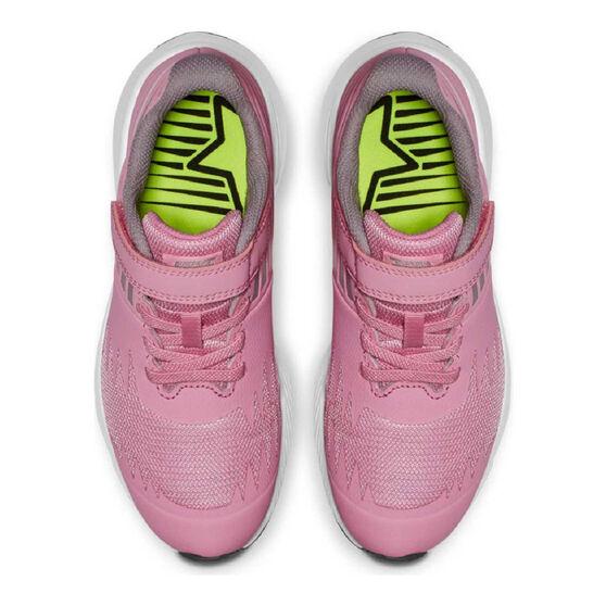 Nike Star Runner Kids Running Shoes, Pink / Grey, rebel_hi-res
