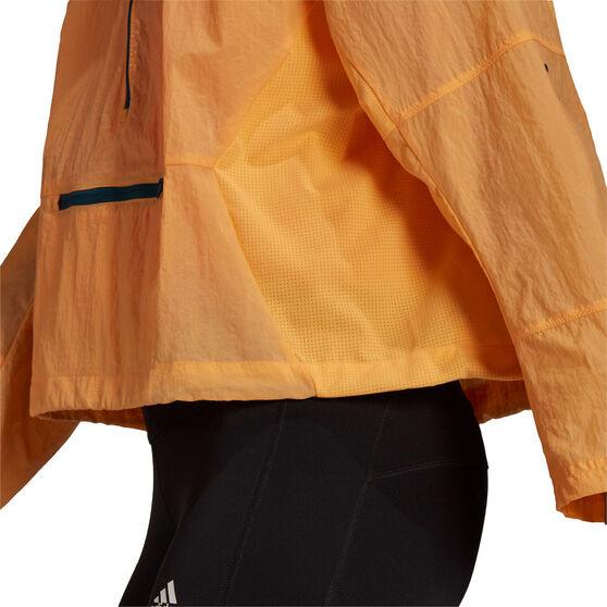 adidas Womens Adapt Jacket, Orange, rebel_hi-res