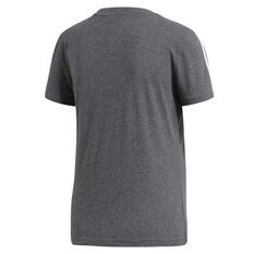 adidas Womens Essentials 3 Stripes Tee Grey XS, Grey, rebel_hi-res