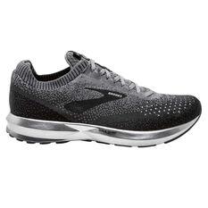 Brooks Levitate 2 Mens Running Shoes Black / Grey US 8, Black / Grey, rebel_hi-res