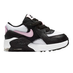 Nike Air Max Excee Toddler Shoes White/Black US 4, White/Black, rebel_hi-res