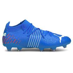 Puma Future Z 3.2 Football Boots Blue/Red US Mens 7 / Womens 8.5, Blue/Red, rebel_hi-res
