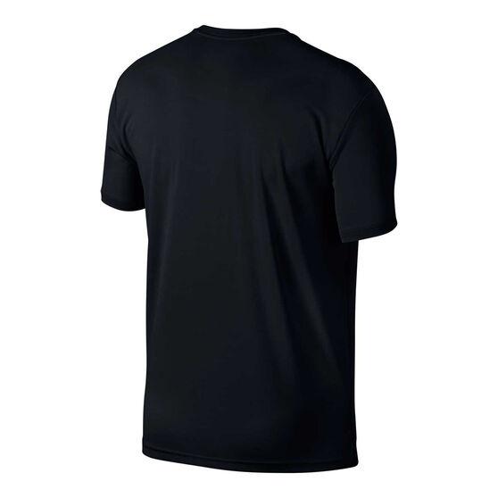 Nike Mens Superset Training Tee, Black, rebel_hi-res