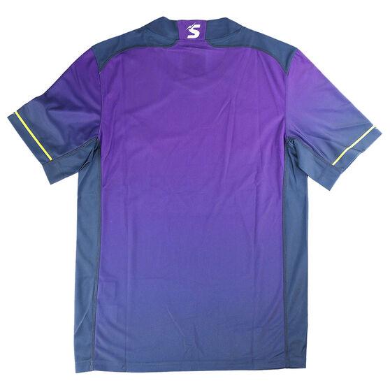 Melbourne Storm 2021 Mens Home Jersey, Purple, rebel_hi-res