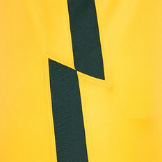 Australia 2020/21 Kids Home Jersey, Yellow, rebel_hi-res