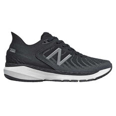 New Balance 860 v11 D Womens Running Shoes Black/White US 6, Black/White, rebel_hi-res