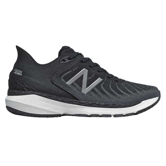 New Balance 860 v11 D Womens Running Shoes, Black/White, rebel_hi-res