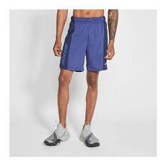 Nike Mens Dri-FIT Training Shorts Purple S, , rebel_hi-res