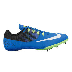 Nike Zoom Rival S 8 Mens Track and Field Shoes Blue / White US 7, Blue / White, rebel_hi-res