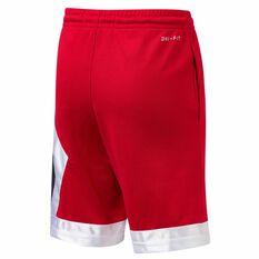 Nike Jordan Blocked Diamond Shorts Red / Black S, Red / Black, rebel_hi-res