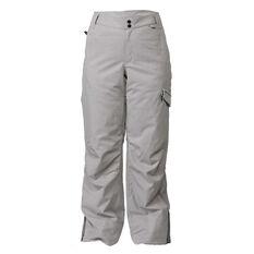 Rojo Womens Adventure Awaits Ski Pants Grey XS, Grey, rebel_hi-res