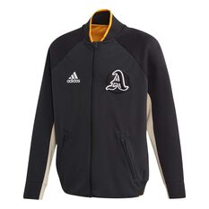 adidas Boys VRCT Jacket Black / White 6, Black / White, rebel_hi-res