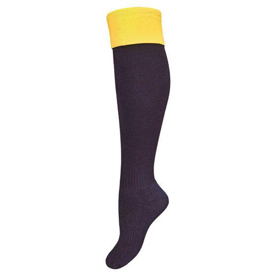 Burley West Coast Eagles Kids Football Socks, , rebel_hi-res