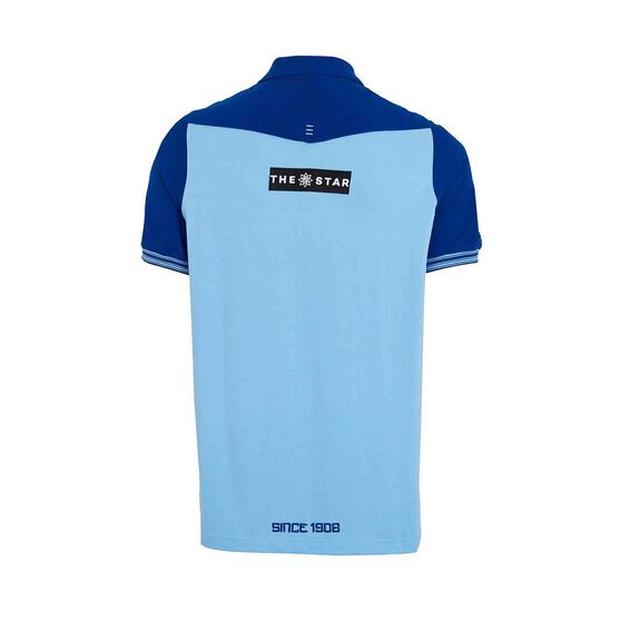 NSW Blues State of Origin 2019 Mens Overlay Polo, Blue, rebel_hi-res