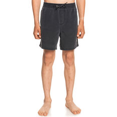 Quiksilver Boys Surfwash 14 Inch Board Shorts Blue 8, Blue, rebel_hi-res