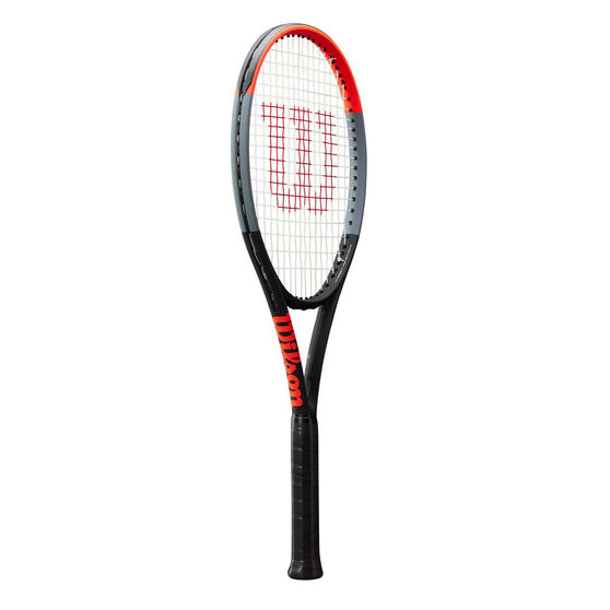 Wilson Clash Tennis Racquet, Grey / Red, rebel_hi-res
