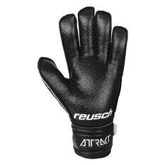 Reusch Attrack Resist Finger Support Goalkeeping Gloves Black 8, Black, rebel_hi-res