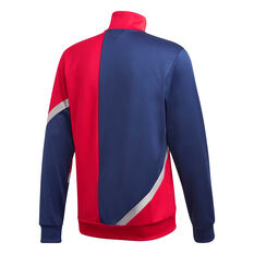adidas Mens TAN Club Home Football Jacket Red S, Red, rebel_hi-res