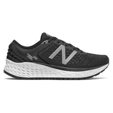 New Balance 1080v9 Womens Running Shoes Black / White US 6, Black / White, rebel_hi-res