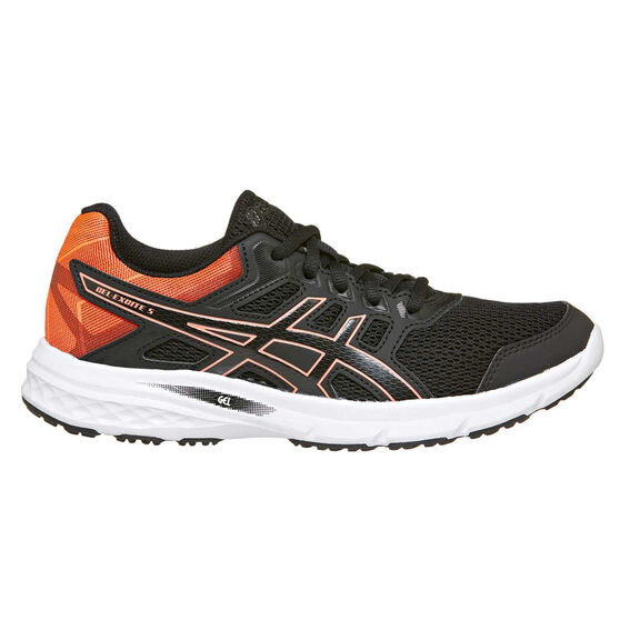 Asics Gel Excite 5 Womens Running Shoes Black US 9.5, Black, rebel_hi-res