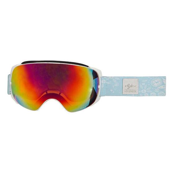 Rojo Womens Retro Ski Goggles, , rebel_hi-res