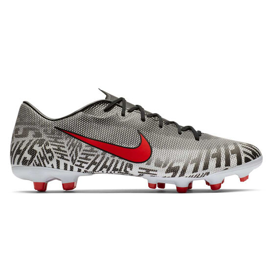 Nike Mercurial Vapor XII Academy Neymar Jr Football Boots, White / Black, rebel_hi-res
