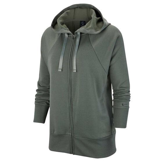 Nike Womens Dri FIT Get Fit Fleece Hoodie, , rebel_hi-res