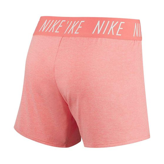 Nike Trophy Girls Training Shorts, Pink / White, rebel_hi-res