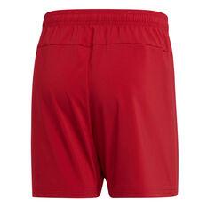 adidas Mens Essentials Plain Chelsea Shorts, Red, rebel_hi-res