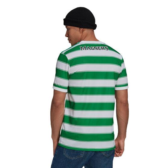 Celtic FC 2021/22 Mens Home Jersey, White/Green, rebel_hi-res