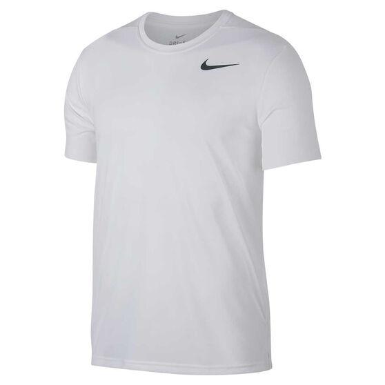 Nike Mens Superset Training Tee, White, rebel_hi-res