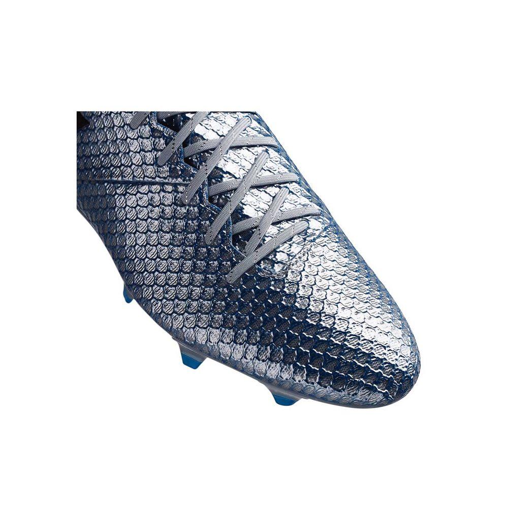 adidas Messi 16.1 Mens Football Boots Silver   Royal US 13 Adult ... 1c138a9f8ff