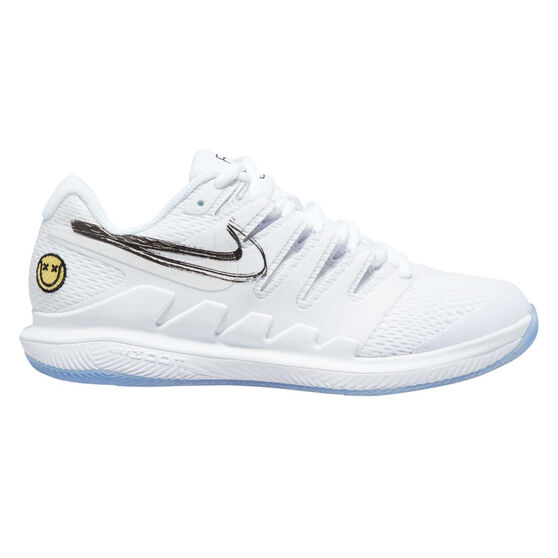 Nike Zoom Vapor X Womens Tennis Shoes, White / Black, rebel_hi-res