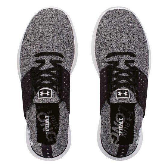 Under Armour Speedform Slingwrap Womens Running Shoes Grey / Black US 8.5, Grey / Black, rebel_hi-res