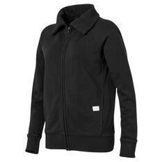 Ell & Voo Womens Savannah Full Zip Jacket Black XXS, Black, rebel_hi-res
