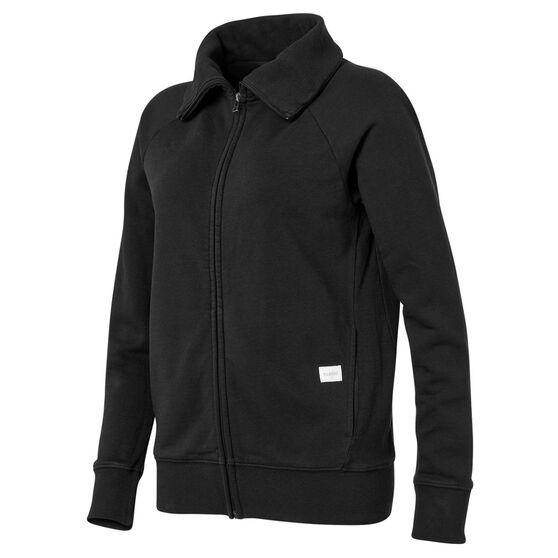 Ell & Voo Womens Savannah Full Zip Jacket, Black, rebel_hi-res