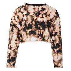 L'urv Womens Hollistic Sweatshirt Black XS, Black, rebel_hi-res