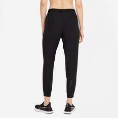 Nike Womens Swoosh Run Running Track Pants Black XS, Black, rebel_hi-res