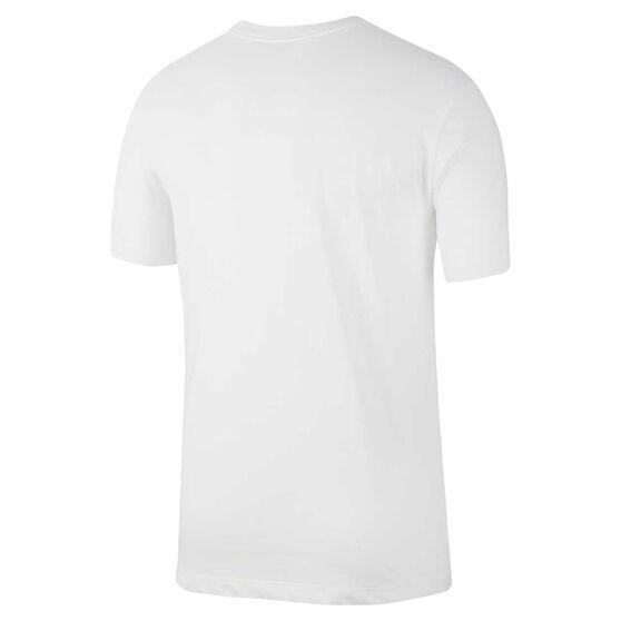 Nike Mens Dri-FIT Training Tee White S, White, rebel_hi-res