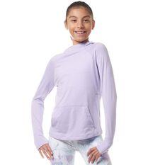 Ell & Voo Girls Amelia Pullover Hoodie Lavender 4 4, Lavender, rebel_hi-res