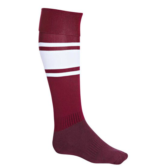 Burley Manly Sea Eagles Football Socks US 7 - 11, , rebel_hi-res