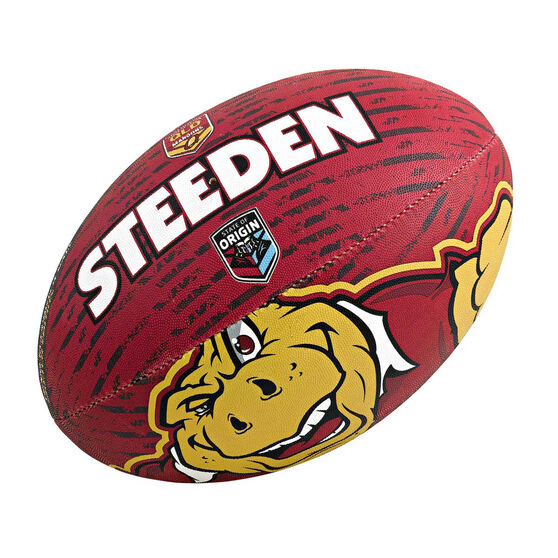 Steeden NRL QLD State Of Origin 11in Supporter Ball 2013, , rebel_hi-res