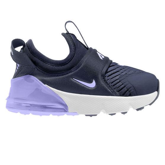 Nike Air Max 270 Extreme Toddler Shoes, Navy/White, rebel_hi-res