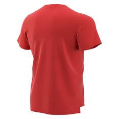 Nike Boys Breathe Hyper Dry Tee Red / White XS, Red / White, rebel_hi-res