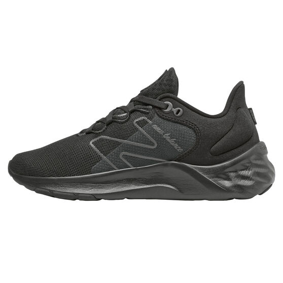 New Balance Fresh Foam Roav v2 Womens Running Shoes, Black, rebel_hi-res