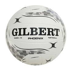Gilbert Phoenix Netball White 5, , rebel_hi-res