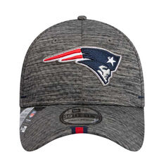 New England Patriots 2019 New Era 39THIRTY Training Cap Grey S / M, Grey, rebel_hi-res